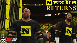 WWE 2K16: Nexus Returns 2016! with Nexus Trons (PS4/Xbox One)