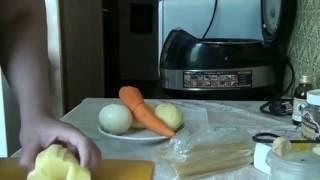 Суп лапша (без мяса).