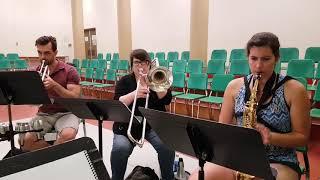 Première répétition de l'orchestre de 9 à 5!