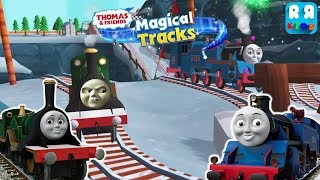 The Angry Emily vs The Big Engine Belle | Girls Engine Race - Thomas and Friends: Magical Tracks