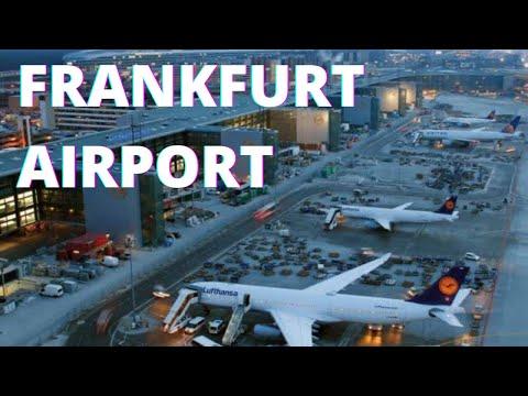 فرینکفرٹ ہوائی اڈے جرمنی * ایچ ڈی * - سپاٹنگ، ٹرمینل، لینڈنگ، اور لے لو