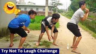 TRY NOT TO LAUGH CHALLENGE 😂 😂 Comedy Videos 2019 - Episode 7 - Funny Vines || SML Troll