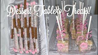 DIY Dessert Table Treats! | ¡Idea Para Mesa De Postres!