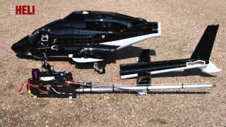 RC-Heli-Action: Super-Scale-Airwolf von Roban