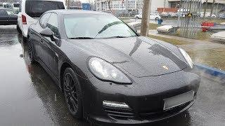 Подешевевший Porsche Panamera который трудно продать!