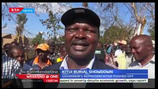 Weekend @ One: Political chaos at a mass burial in Kitui,9;/24/2016
