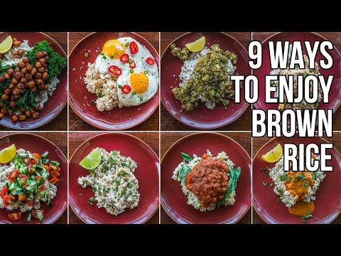 Video 9 Ways to Make Brown Rice Less Bland / 9 Nueva Recetas para Arroz Integral