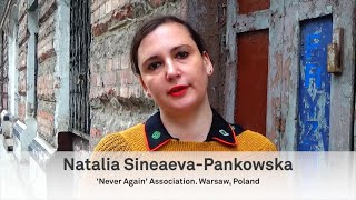 Natalia Sineaeva-Pankowska: Museums and Peacebuilding in a post-COVID 19 world, 1.11.2020.