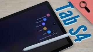 Tablet, ami már PC | Samsung Tab S4 10.5 teszt