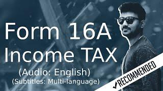 Form 16A | Form 16A Income Tax Return