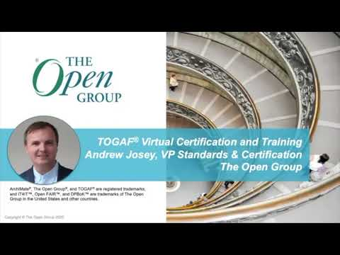 TOGAF® Virtual Certification and Training - YouTube