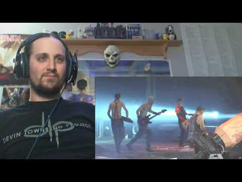 Rammstein - Pussy (Live Montreal 2012) (Reaction)