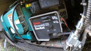 Onan Genset III RV Generator Repair | Replacing Starter Motor