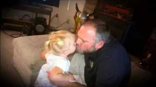 The lucky one.- Faith Hill   ( pictures of my Granddaughter  )