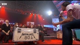 Lou Reed & Metallica: Interview (Cologne, Germany - November 11, 2011)