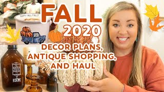 FALL 2020 HOME DECOR PLAN & HAUL | SHOP #WITHME | COZY MODERN FARMHOUSE DECOR | JESSICA ODONOHUE