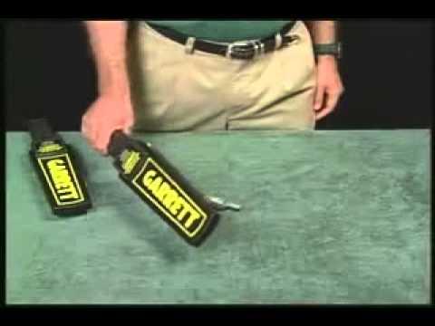 Detector de Metales, Garrett, Super Scanner