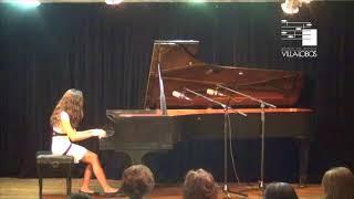 Ingrid R. Uemura - 1º Concurso Nacional De Piano Da Escola De Música Villa-Lobos