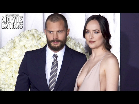 """Fifty Shades Darker"" Cast Interviews – Dakota Johnson, Jamie Dornan, Rita Ora, Marcia Gay Harden"