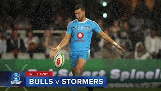 HIGHLIGHTS: 2019 Super Rugby Week 1 Bulls v Stormers