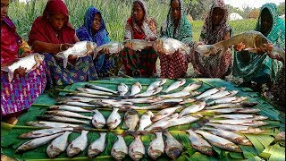 50 Pieces Carp Fish Vegetables Mixed Curry Fest For 300+ Village People - Best Bengali Lunch