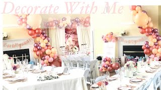 Decorate With Me | DIY Bridal Shower Decor