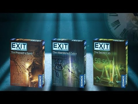 Tatooine Tableflip Reviews Exit : The Game series
