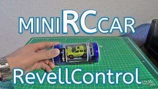 von Revellcontrol ein Mini RC/Modellautor  in einer Getränkedose 27 Mhz // 40 Mhz