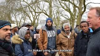P1 - Tutupilah - Hashim Vs American Christian - Speakers Corner - Hyde Park