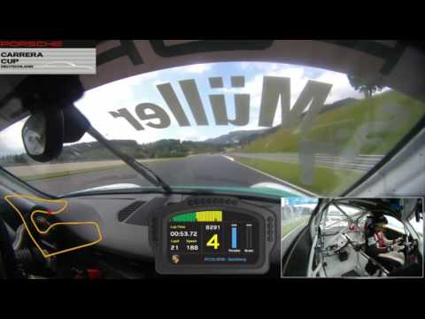 SPARK SG273 Porsche Carrera Cup n°7 Germany Champion 2016 Sven Müller 1/43