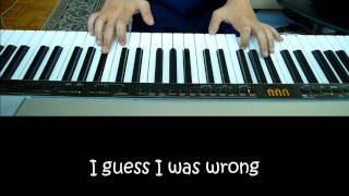 Justin Timberlake - What goes around comes around High Quality Mp3 Karaoke/Piano Cover by Sam Masghati