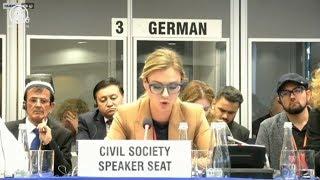 Скандал на конференции ОБСЕ в Варшаве