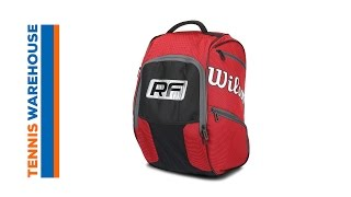 Wilson Federer Elite Tennis Backpack video