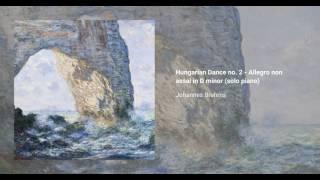 Hungarian Dance no. 2 in D minor, WoO. 1 (solo piano)