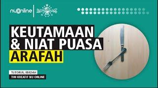 Tata Cara Puasa Arafah