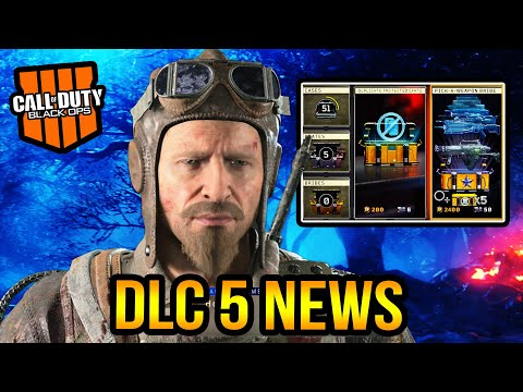 Black Ops 4 Zombies - DLC 5 Update! New Black Market Changes!