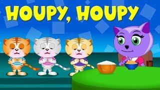 Houpy, houpy, kočka snědla - Písničky pro děti a nejmenší