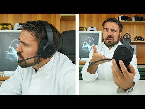 Was kann das Headset aus Sneaker Material? - Logitech G433 Gaming-Kopfhörer für PS4, Xbox One, & PC