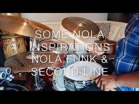A New Orleans inspired groove & feel.