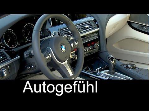 BMW 650i Coupé & BMW 650i Cabriolet Facelift INTERIOR 2016 - Autogefühl