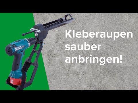 Kartuschenpresse AKKU ADAPT - für perfekte Klebe- & Dichtraupen