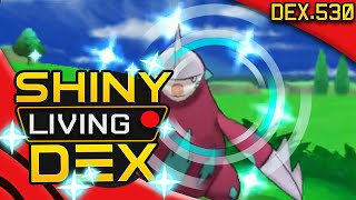 Drilbur  - (Pokémon) - SHINY EXCADRILL Live Reaction! Quest For Shiny Living Dex #530 | Pokemon XY