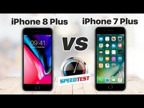 iPhone 8 Plus vs iPhone 7 Plus Speedtest: Chip A11 Bionic có làm nên khác biệt!?!