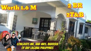 OFW DREAM HOUSE OF MR. AND MRS. BARRERA OF BAY LAGUNA, Worth 1.6M Contract, 2BR, 2 T&B, 300sqm