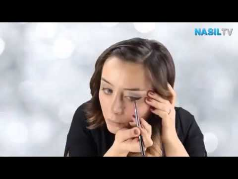 Günlük makyajda göz kalemi nasıl kullanılır NasılTV