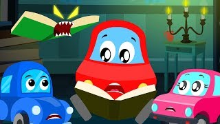 Book of thrills | Little Red Car| Fun Video For Kids
