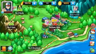 Monsters Saga | New POKEMON MMORPG iOS Game | CERULEAN GYM