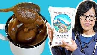 Navajo Coffee - it's so thick you eat it with a spoon - HARD TIMES