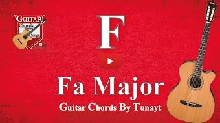 ★ Fa Major    Fa Majör Akoru Gitarda Nasıl Basılır ?   How To Play F Chord On Guitar ?