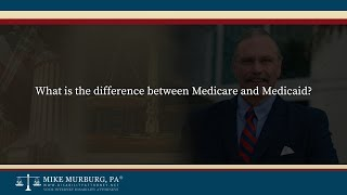Video thumbnail: What is the difference between Medicare and Medicaid?